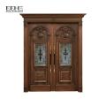Hölzerne Haupttür entwirft Luxusholztür für Villia-Eingangstür