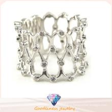 Кольцо ювелирных изделий ювелирных изделий стерлингового серебра оптовой продажи 2015 самое новое самое современное (R10332)