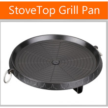 Non- Stick Healthy Cooking Stove Top BBQ Plate