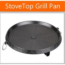 Cocina antiadherente estufa de cocina superior barbacoa placa