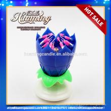 Bougie de fleur / 8 pétales / usine directement en gros