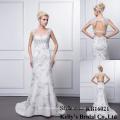 Großhandel schöne neue Stil Braut tatsächlichen Bild echte Bild Hochzeit Nacht Kleid elegante Ebene in Südafrika