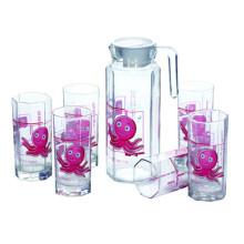 High Quality Glass Jug Set Glassware Kitchenware Kb-Jh06137