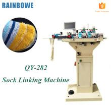 Automatique stable haute vitesse chaussette orteil fermeture cadran reliant la machine
