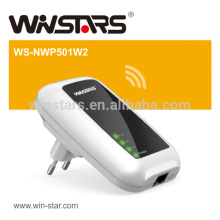 Adaptador Powerline extensor de 500Mbps, adaptador AV500 WiFi Powerliner até 300M, CE, FCC