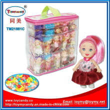 Fashion Princess Beautiful Baby Doll Toy with Candy