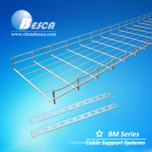 Galvanised basket tray for cables(Cablofil)