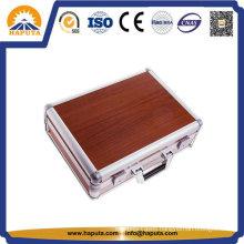 Professional Red Color Aluminum Laptop Case (HL-2003)
