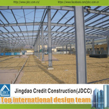Structure en acier préfabriquée Bâtiment en grange industrielle