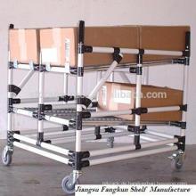 Flexible Bar-Typ Mobile Regale / Faltbare Rohrregale