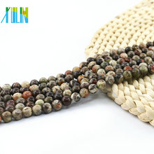 L-0129 All Size Ocean Jasper Natural Gemstone Beads Jewelry Making Loose Stone Beads For DIY