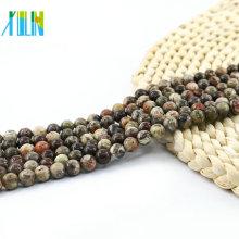 L-0129 Todo o Tamanho Do Oceano Jasper Natural Gemstone Beads Jóias Fazendo Solta Pedra Beads Para DIY