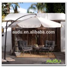Audu plegable jardín paraguas / crema plegable impermeable paraguas jardín uso