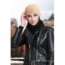 Chapeau tricoté de coton personnalisé multifonctionnel pour en gros
