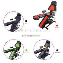 professional manufacturer high quality massage chair,functional tattoo chair furniture,hydraulic tattoo ink bed