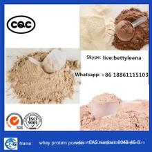 Suplementos de perda de peso branco de pureza de 99% Pó de albumina