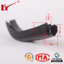 Tiras de peças de borracha Auto de extrusão de EPDM de personalizada de alta temperatura