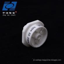 Electrical heating ceramic electrical insulators