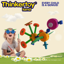 Garden Swing Plastic Puzzle Garden Animal Kit Educational Toy