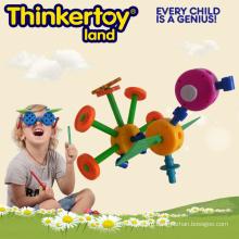 Сад Свинг Пластиковые головоломки Сад животных Kit Развивающие игрушки