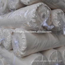 Grauer Webstoff - 100% Baumwolle kardiert / 92*74 CD30*CD30