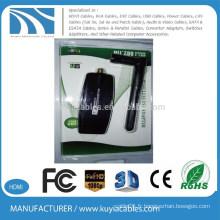 300Mbps 802.11nb / g USB Mini adaptateur sans fil Wi-Fi Network LAN Card 5dbi