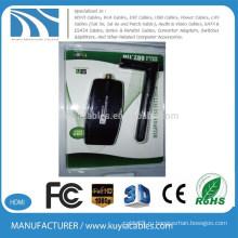 300 Мбит / с 802.11nb / g USB Mini Wi-Fi беспроводной адаптер Сетевая карта LAN 5dbi