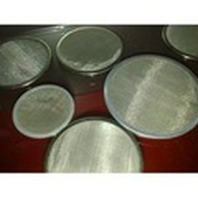 Paquete de malla de malla metálica para fibra química con puntos soldados o bordes de armazón