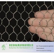 China Negative Twist Malla de alambre hexagonal galvanizada por inmersión en caliente Fabricación