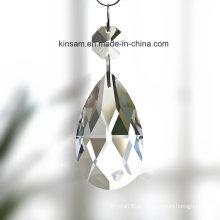 Parte clara do candelabro do cristal da gota da Água-Gota
