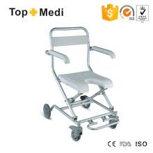 Topmedi Bad Dusche Rollstuhl U-Form Sitz Klappbare Badewanne Bath