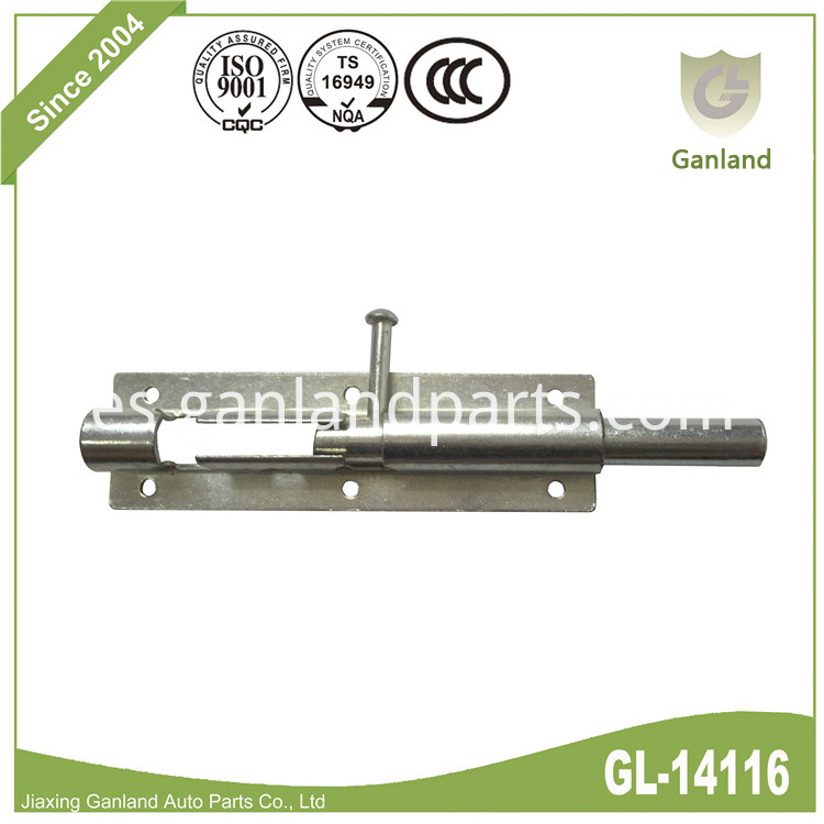 Sliding Lock Barrel Bolt GL-14116