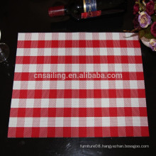NEW style PVC latticed placemat