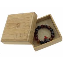 OEM Customized Logo Print Jewelry Supplies Wooden Jewelry Box