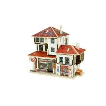 Toy Collectibles da madeira para a loja global da lembrança das Casas-Turquia