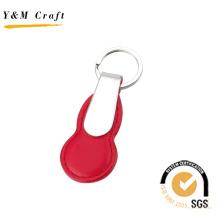 Porte-clés en cuir en métal (Y02550)
