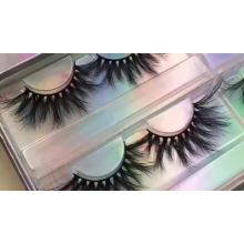 Akara real mink eyelash wispy lashes natural looking lashes cruelty free 3d mink eyelashes with custom eyelash packaging