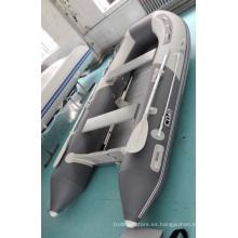 Barco de pesca inflable del agua de alta calidad para deportes acuáticos