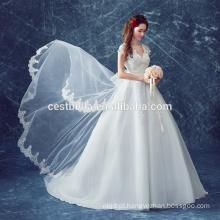 High quanlity Último vestido de noiva com vestido de noiva Vestido de casamento