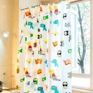 Rideau de douche PEVA Cute Animals