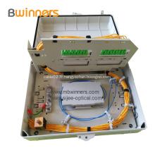 Boîte de terminaison de séparateur à fibre optique de 32 noyaux