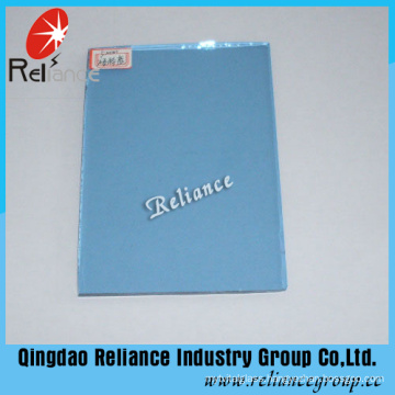 4-6mm Dark Blue Tinted Float Glass with Ce/ISO