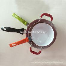 Juego de utensilios de cerámica de aluminio