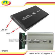 2.5 pulgadas de disco duro SATA externa caso / USB 3.0 HDD caso