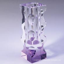 Crystal Vase, Glass Vase for Home Decoration