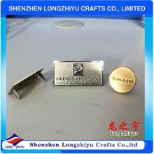 Custom Made Metal Logo Charms/Metal Logo Labels for Handbags