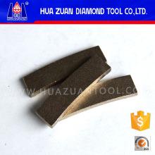 Segmento rápido do diamante da forma do fã do corte de 300mm para a pedra de mármore