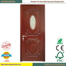 Simple Wood Door Wood Bedroom Door Machine PVC Door