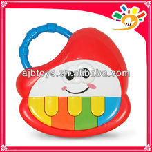 Kids Cartoon Strawberry Piano Musical Instrument Set Toy For Sale