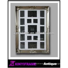 wooden antique silver collage picture frames